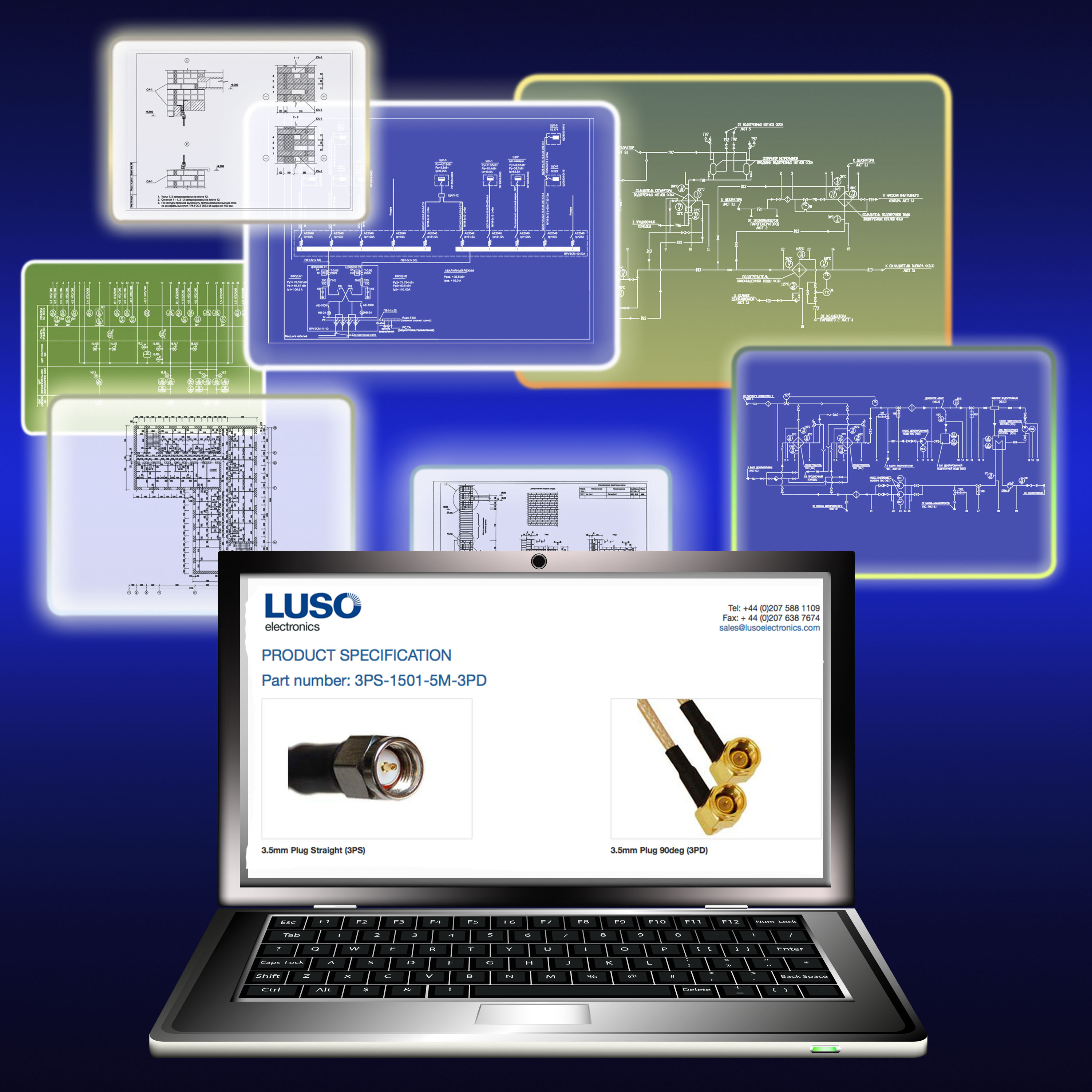 Luso Electronics Launches Fast Track Cable Assembly