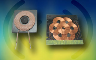 Elec & Eltek wireless power transmitter and receiver coil modules