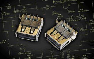 Elec & Eltek, Luso, Luso Electronics, MD-R0124F, PCB design flexibility, USB2.0 Filter Connectors