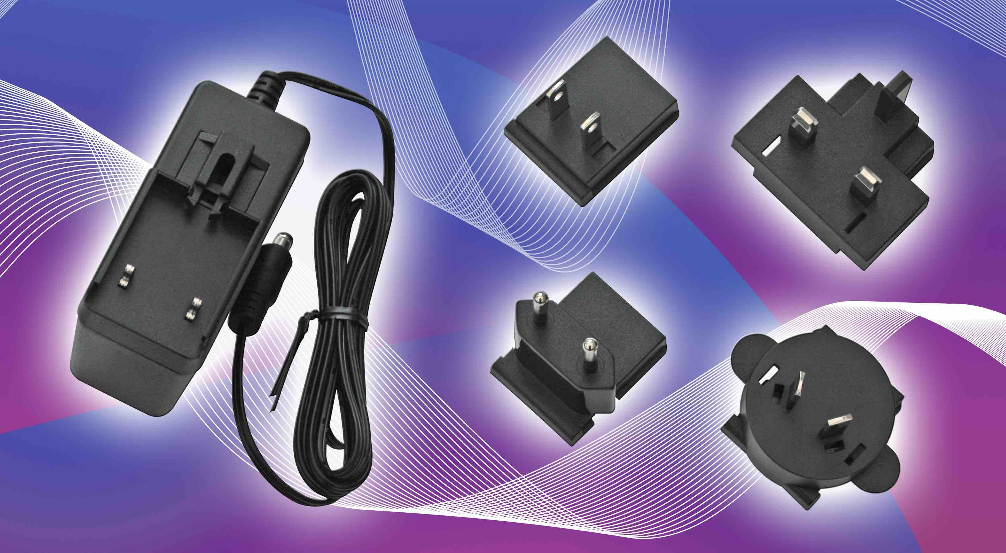 Luso, Adapter Technology, power supply, plug adapter, interchangeable plug top